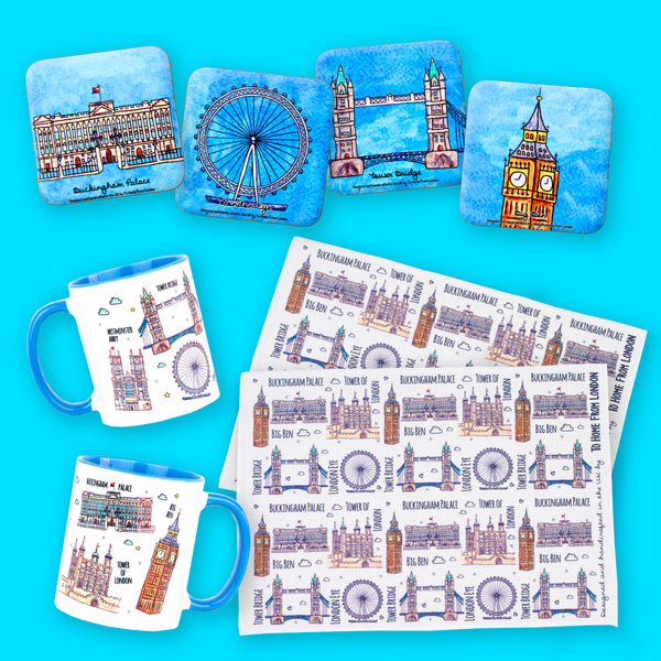London Tour for 2 Gift Box - To Home From London