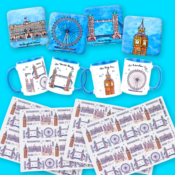 London Tour for 4 Gift Box - To Home From London