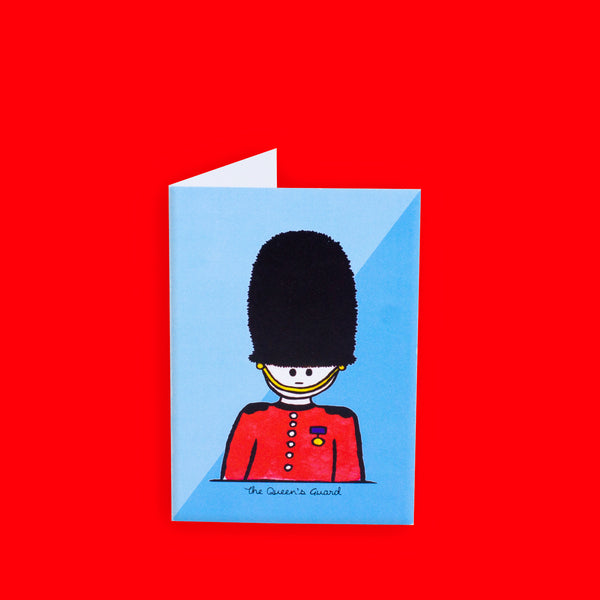 Queen's Guard Greeting Card - To Home From London