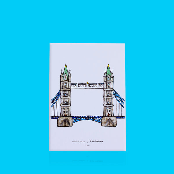 Tower Bridge Print - To Home From London