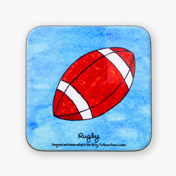 Rugby Coaster - To Home From London