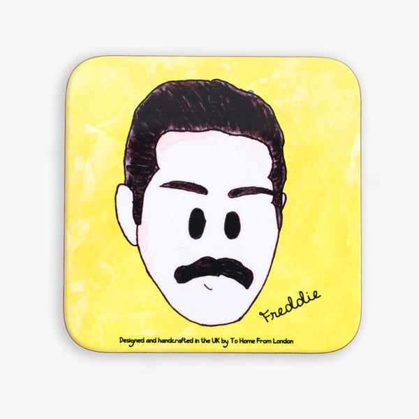 Freddie Mercury Coaster - To Home From London