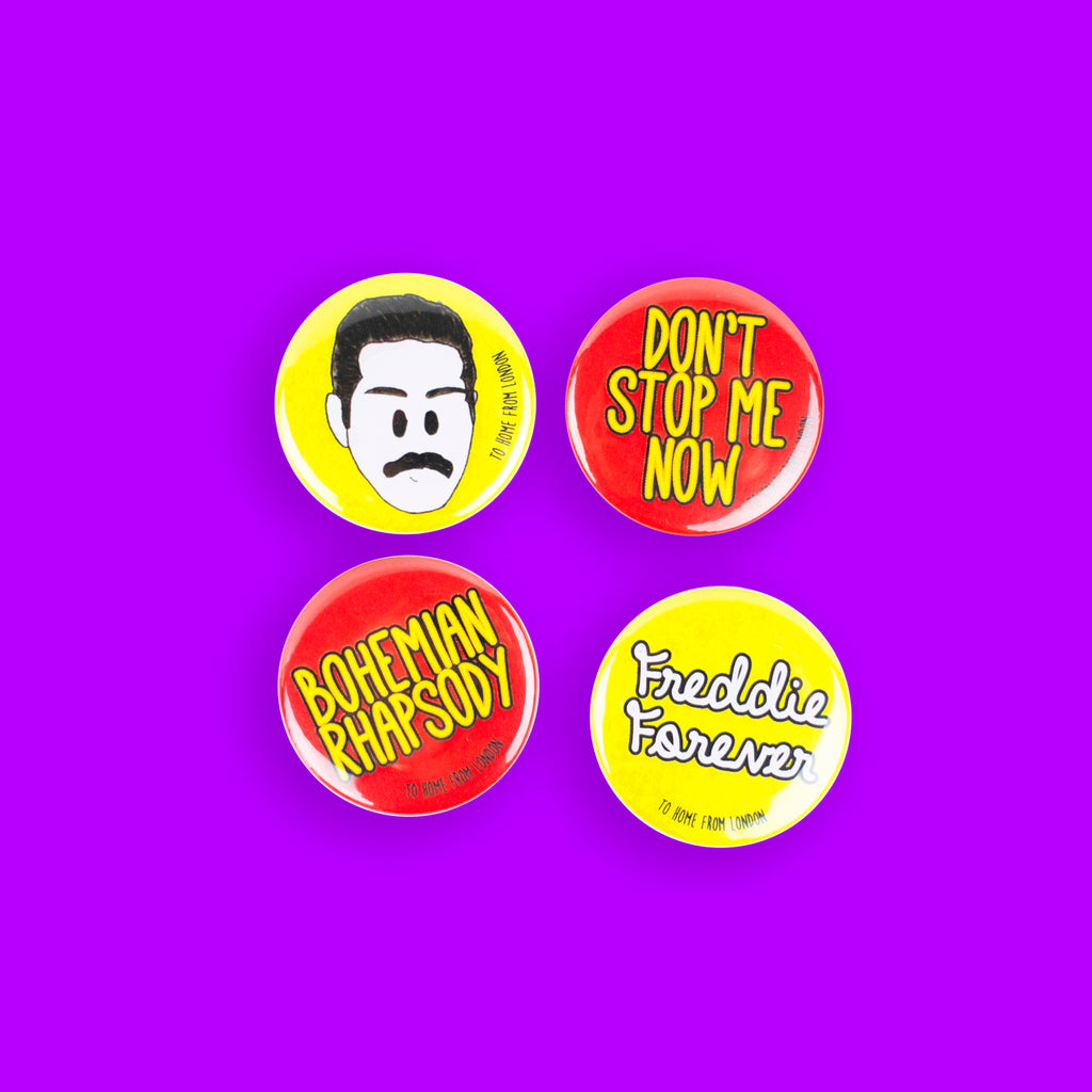Freddie Badges - To Home From London