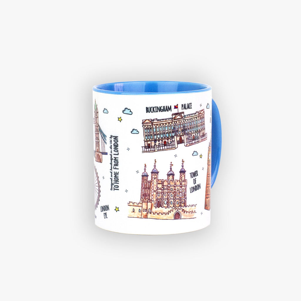 London Landmarks Mug - To Home From London
