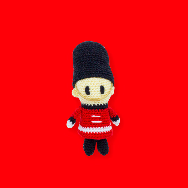 Queen's Guard Amigurumi - To Home From London