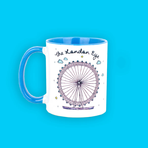 London Eye Mug - To Home From London