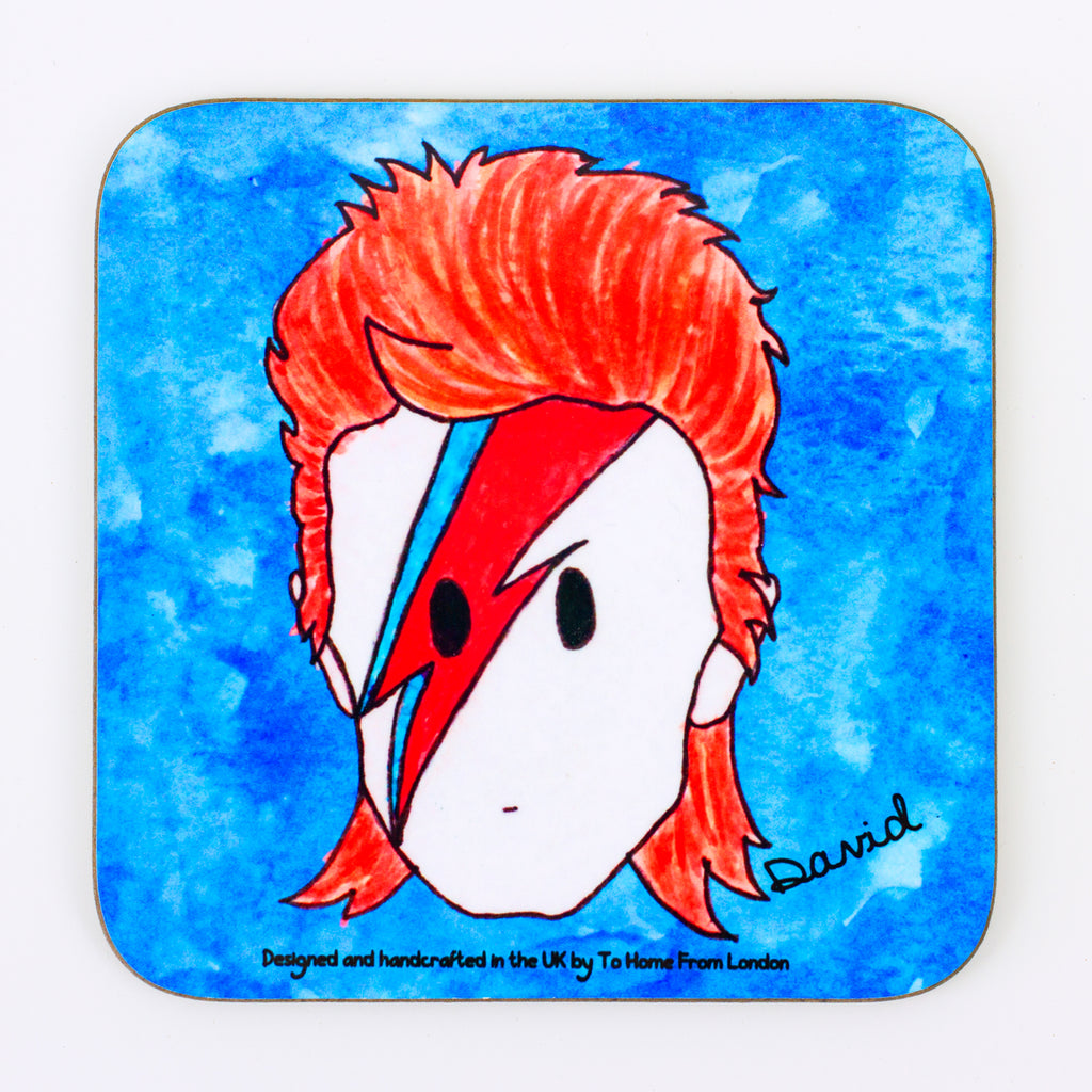 David Bowie Coaster