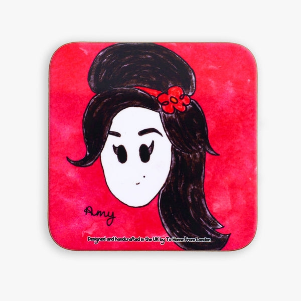Amy Winehouse Coaster - To Home From London