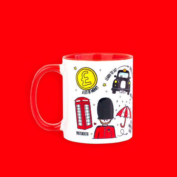 British Icons Mug - To Home From London
