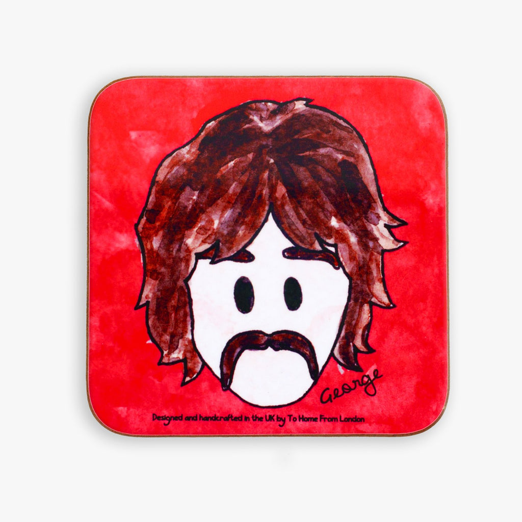George Harrison Coaster - To Home From London