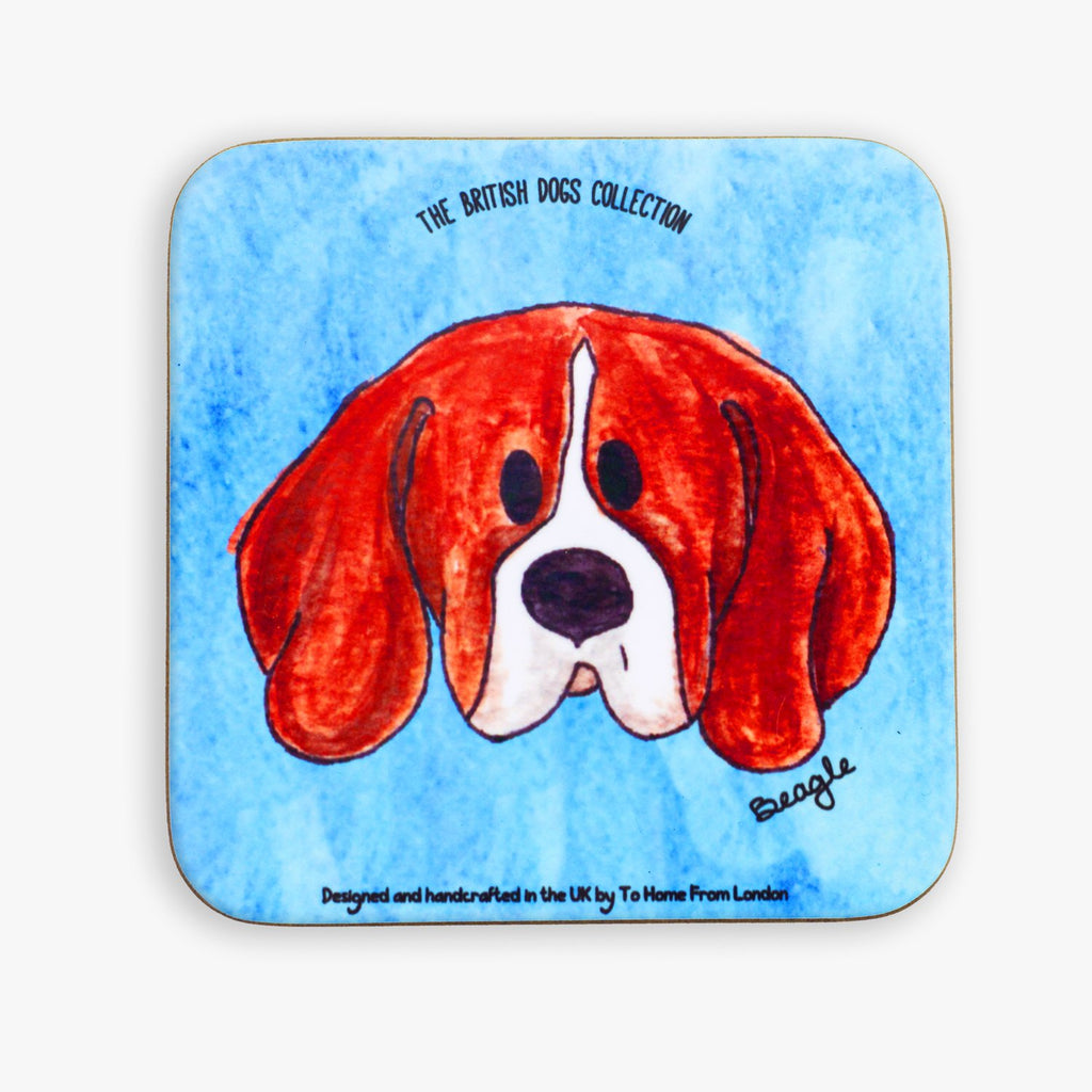 Beagle Coaster - To Home From London