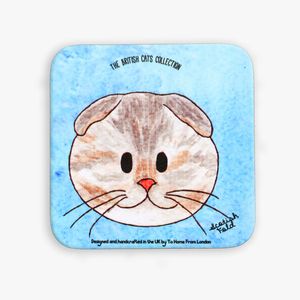 Scottish Fold Coaster - To Home From London