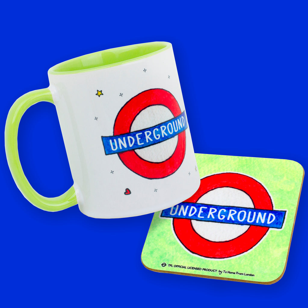 Underground Roundel Gift Box - To Home From London