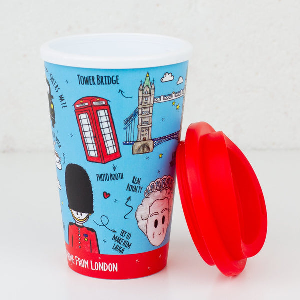 British Icons Travel Mug - To Home From London