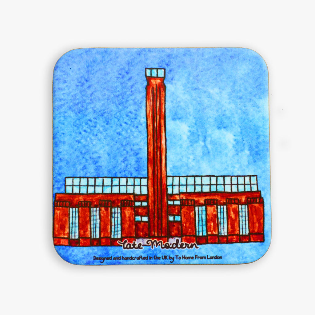 Tate Modern Coaster - To Home From London