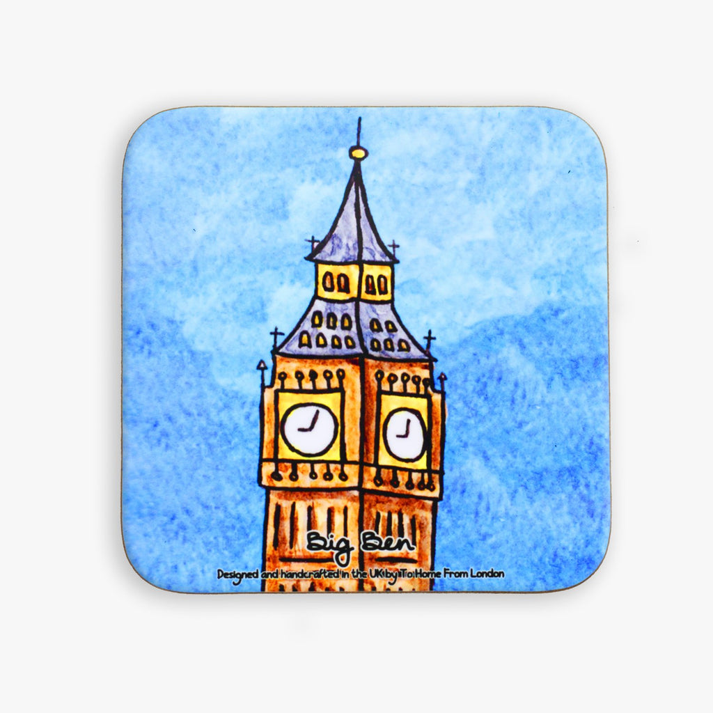 Big Ben Coaster - To Home From London