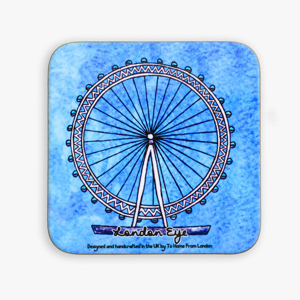 London Eye Coaster - To Home From London