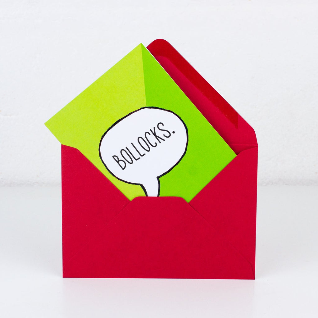 Bollocks Greeting Card - To Home From London