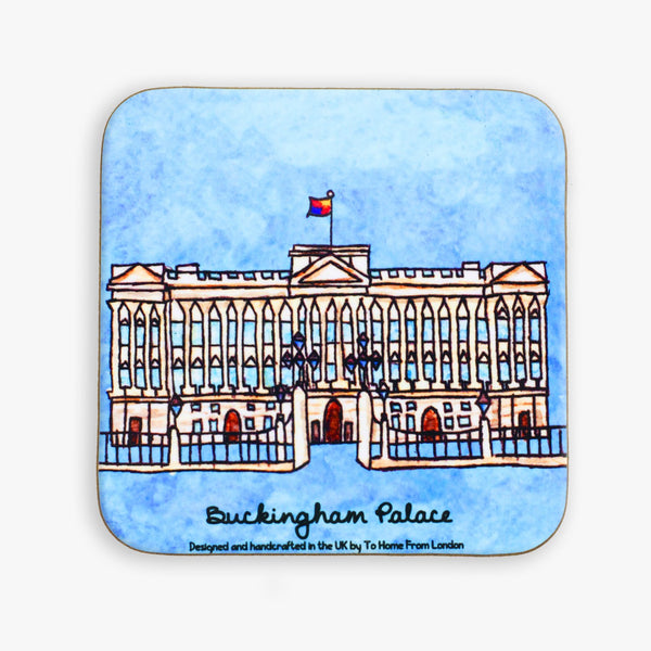 Buckingham Palace Coaster - To Home From London