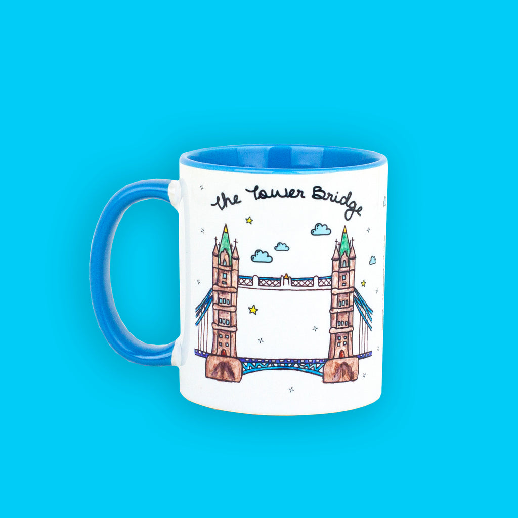 Tower Bridge Mug - To Home From London