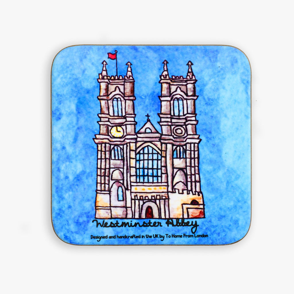 Westminster Abbey Coaster - To Home From London