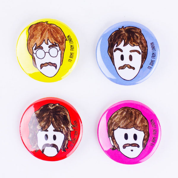 Beatles Badges