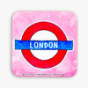 London Roundel Coaster - To Home From London