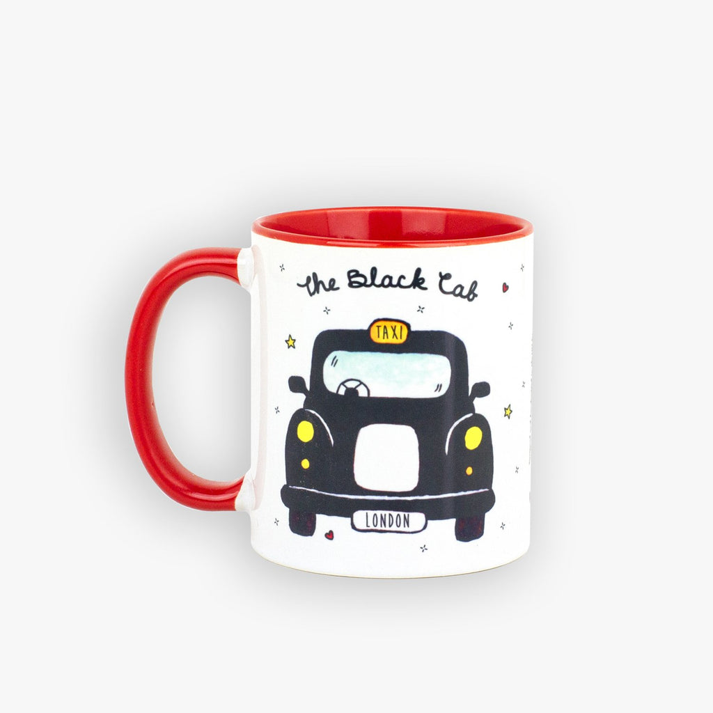 Black Cab Mug - To Home From London