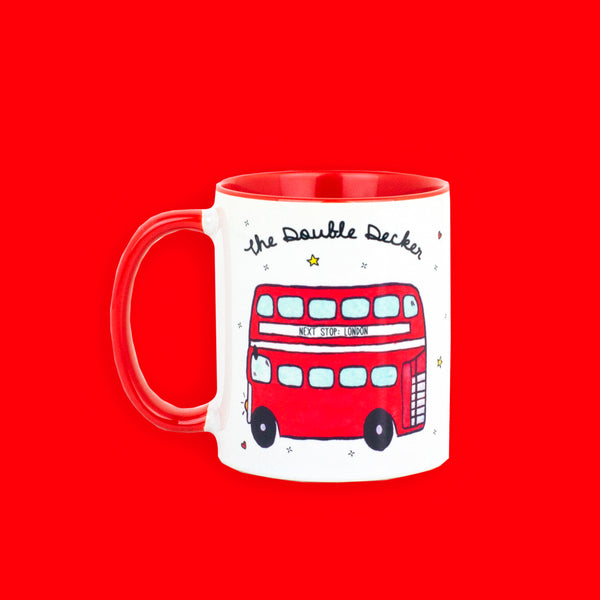 Double Decker Mug - To Home From London