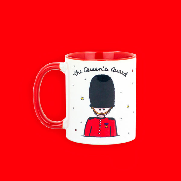 Queen's Guard Mug - To Home From London