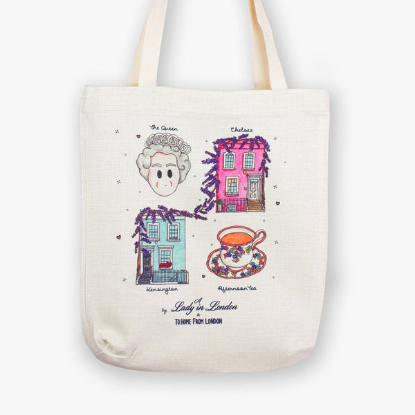 A Lady in London Tote Bag - To Home From London