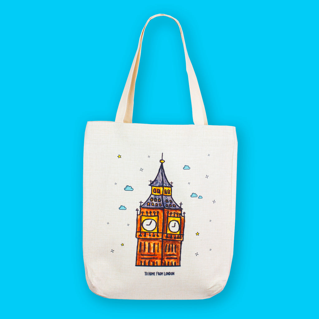 Big Ben Tote Bag - To Home From London