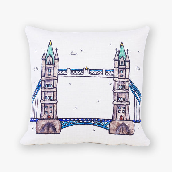 Tower Bridge Cushion Cover - To Home From London