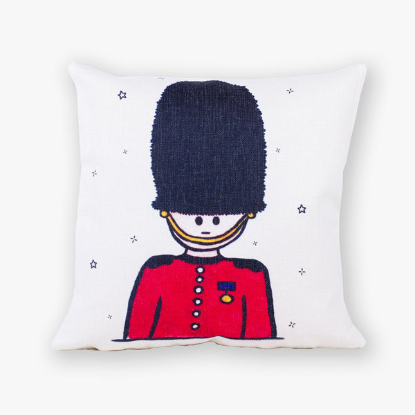 Queen's Guard Cushion Cover - To Home From London