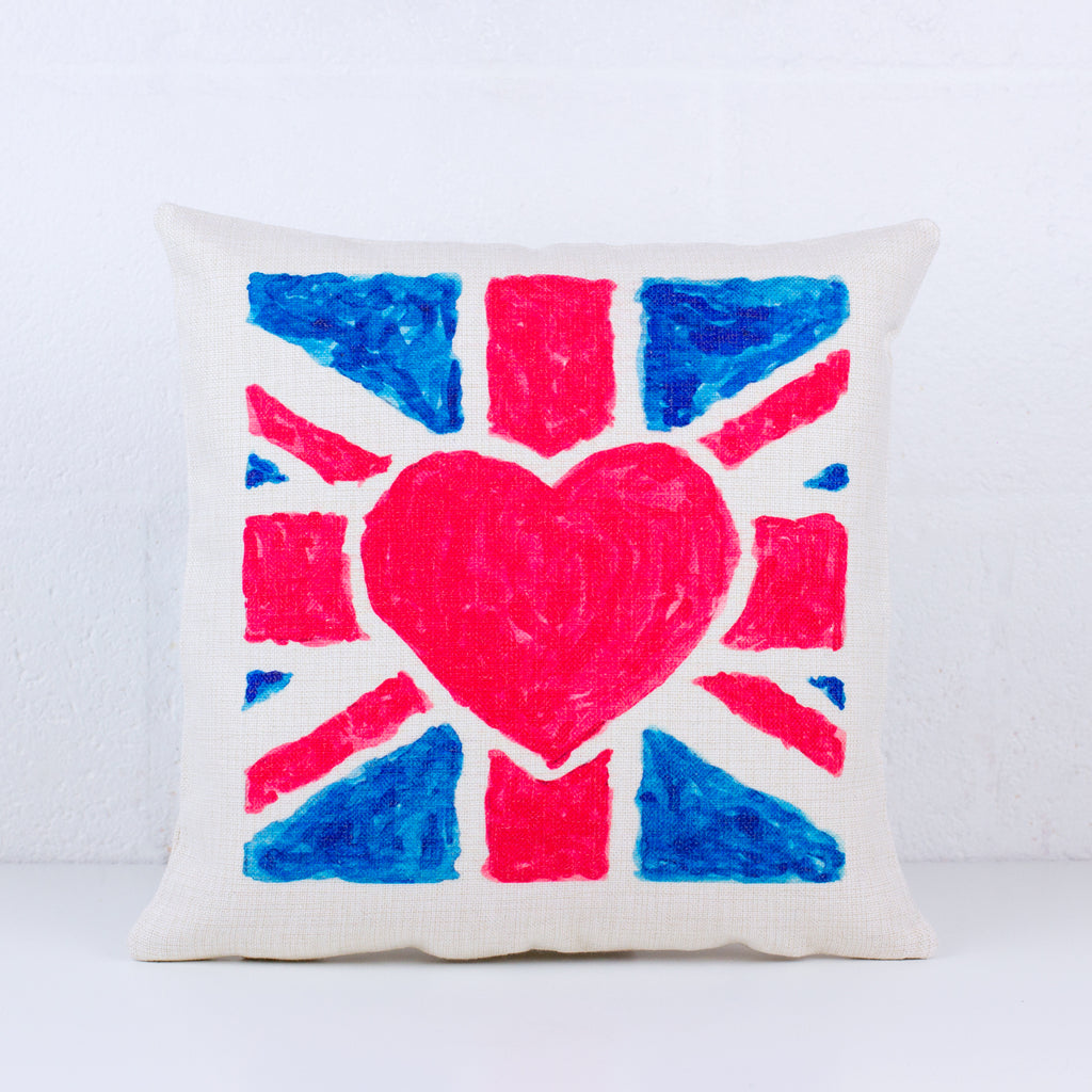 THFL Union Jack Flag Cushion