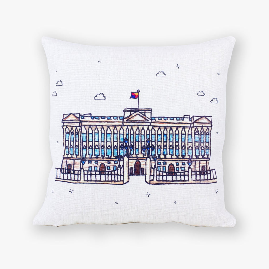 Buckingham Palace Cushion Cover - To Home From London