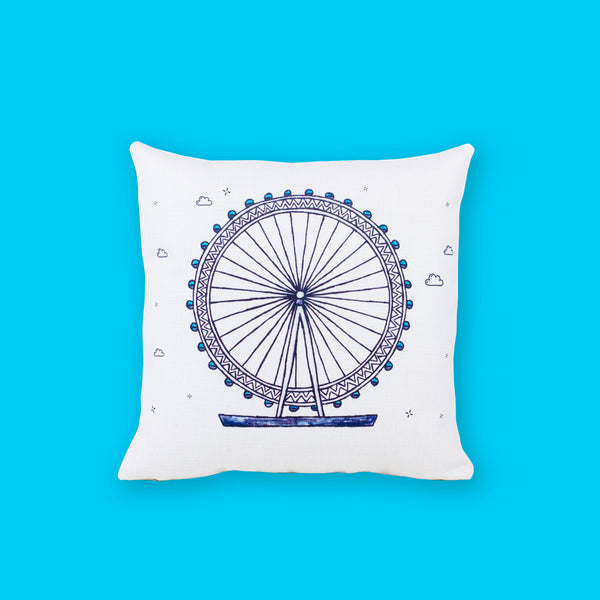 London Eye Cushion Cover - To Home From London