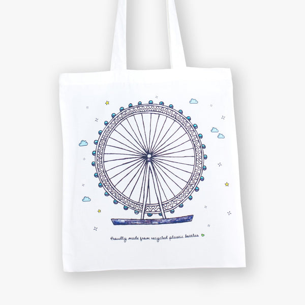 London Eye Eco Bag - To Home From London