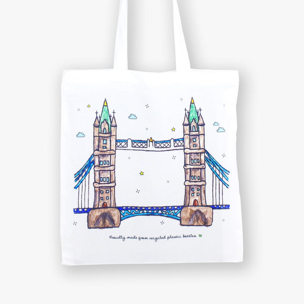 Tower Bridge Eco Bag - To Home From London