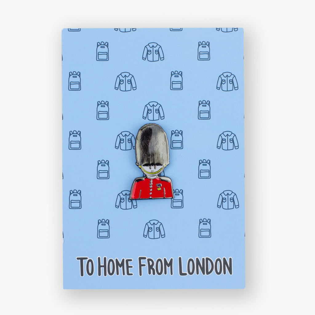 Guard Enamel Pin - To Home From London