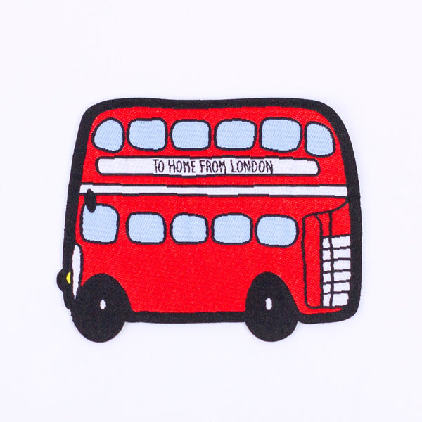 Double Decker Patch - To Home From London