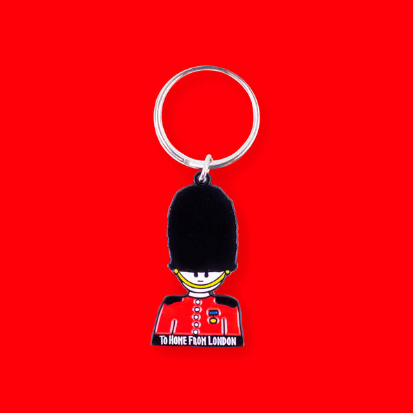 Guard Keyring - To Home From London