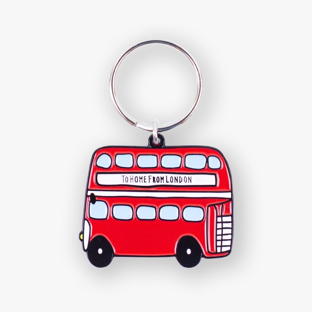 Double Decker Keyring - To Home From London