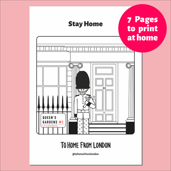 Free Printables - Lockdown Life - To Home From London