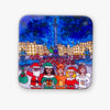 Santa Pub Crawl Magnetic Coaster - To Home From London