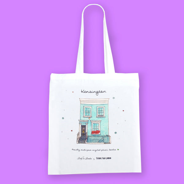 Kensington Eco Bag by A Lady in London - To Home From London