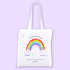 Rainbow Eco Bag - To Home From London