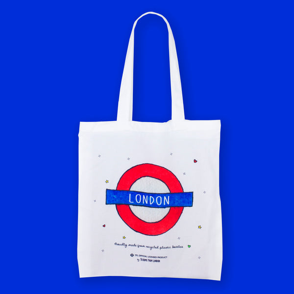 London Roundel Eco Bag - To Home From London
