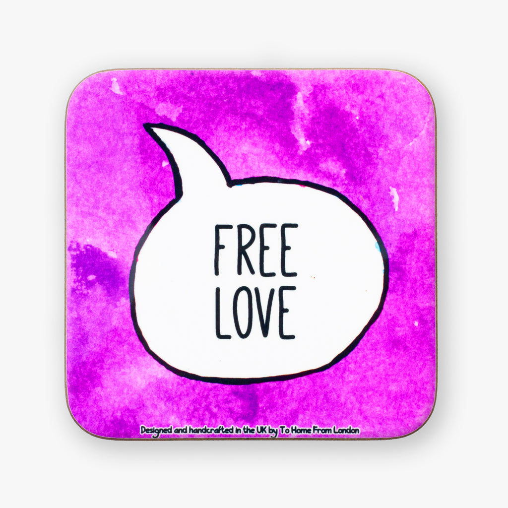 Free Love Coaster - To Home From London