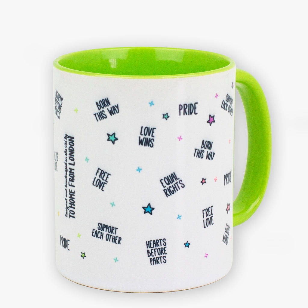 Pride Green Mug - To Home From London